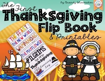 Thanksgiving: The First Thanksgiving Flip Book | Super
