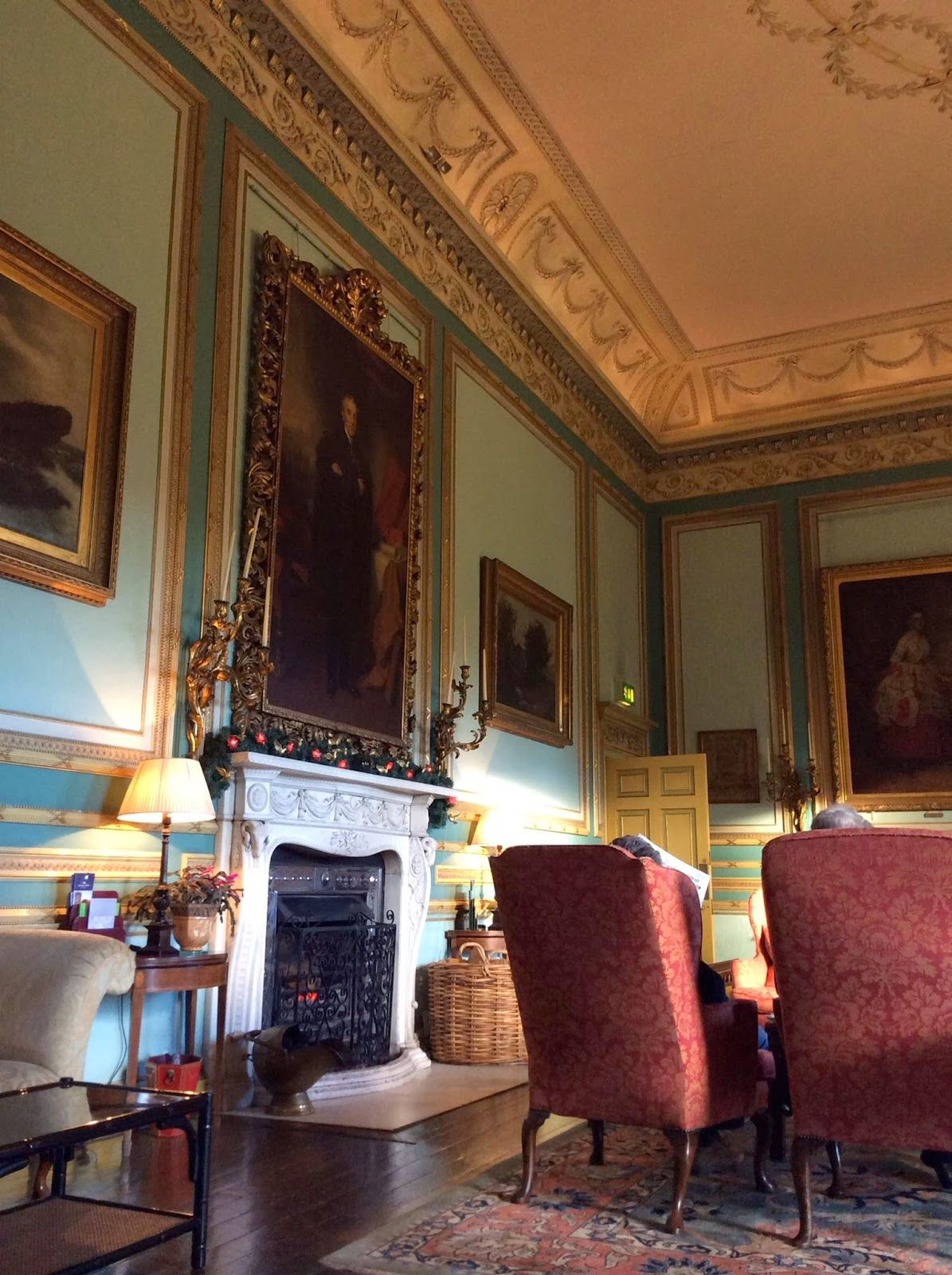 Old English Drawing Room: The Drawing Room At Swinton Park