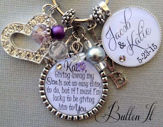 Inexpensive Wedding Gifts For Bride And Groom: Future Daughter In Law Gift, Wedding Bouquet Charm, Giving