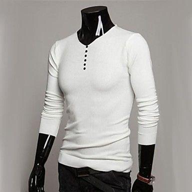 Men's Casual Fashion  Sweater A – USD $ 14.66