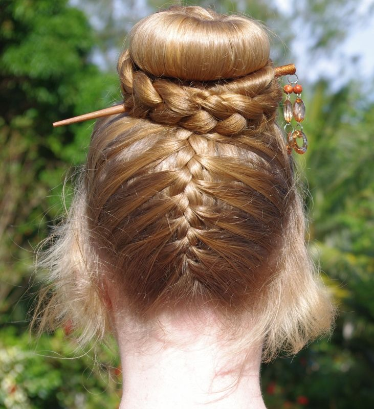 Wedding Hair French Braid: Braids & Hairstyles For Super Long