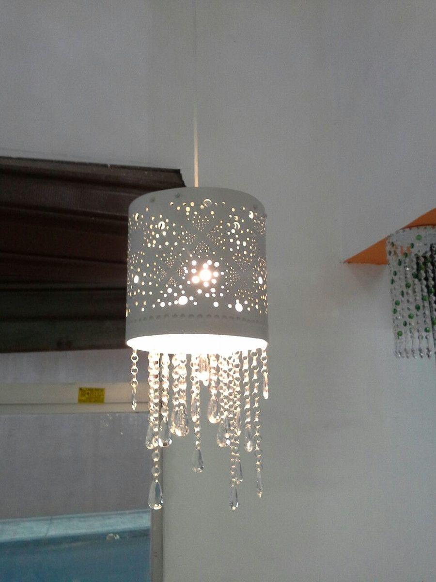 Lustre De Pvc Bolinha Lustres Artesanais Lustre Iluminacao