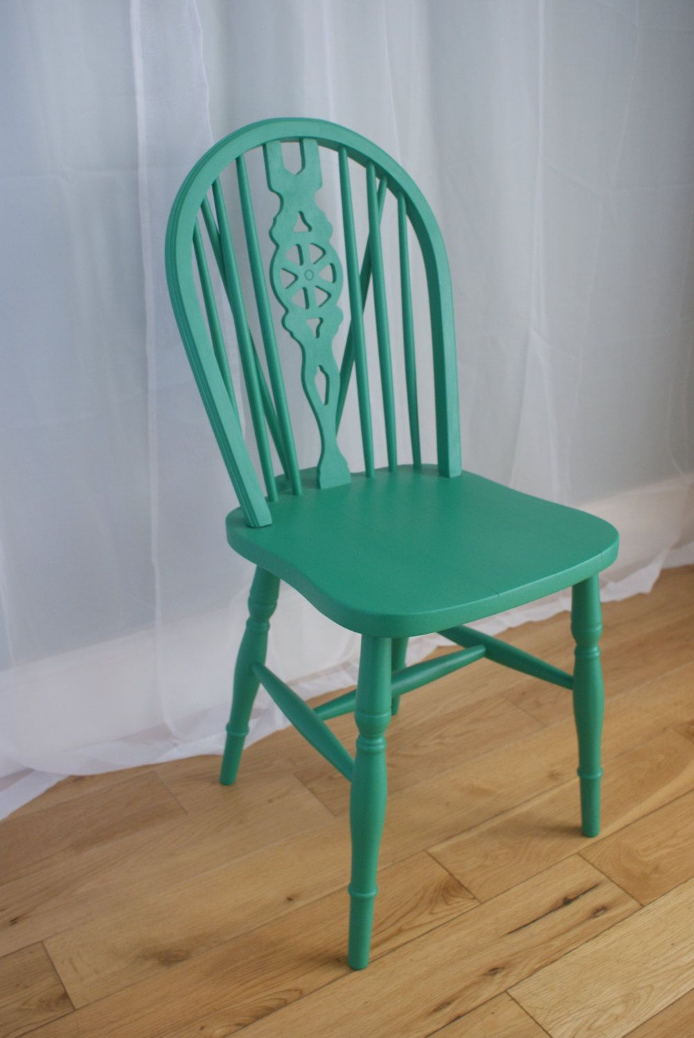 Fun & Funky Painted Wooden Chairs - Choice of 4 Colours by ...