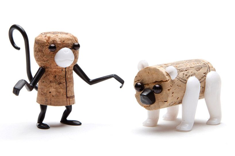Corkers (Reddish Studio, 2012): a set of pins to create cork creatures.