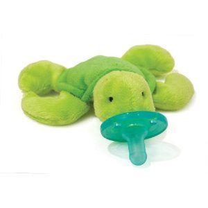 Wubbanub Infant Plush Toy Pacifier - Turtle