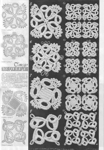 New Motifs Lovely Lacy New Crochet Patterns For Tablecloths