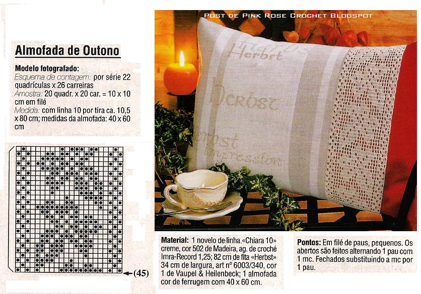 Almofada+c+Entremeio+Folhas+de+Plátono+em+Croche.PNG 836×585 pixels