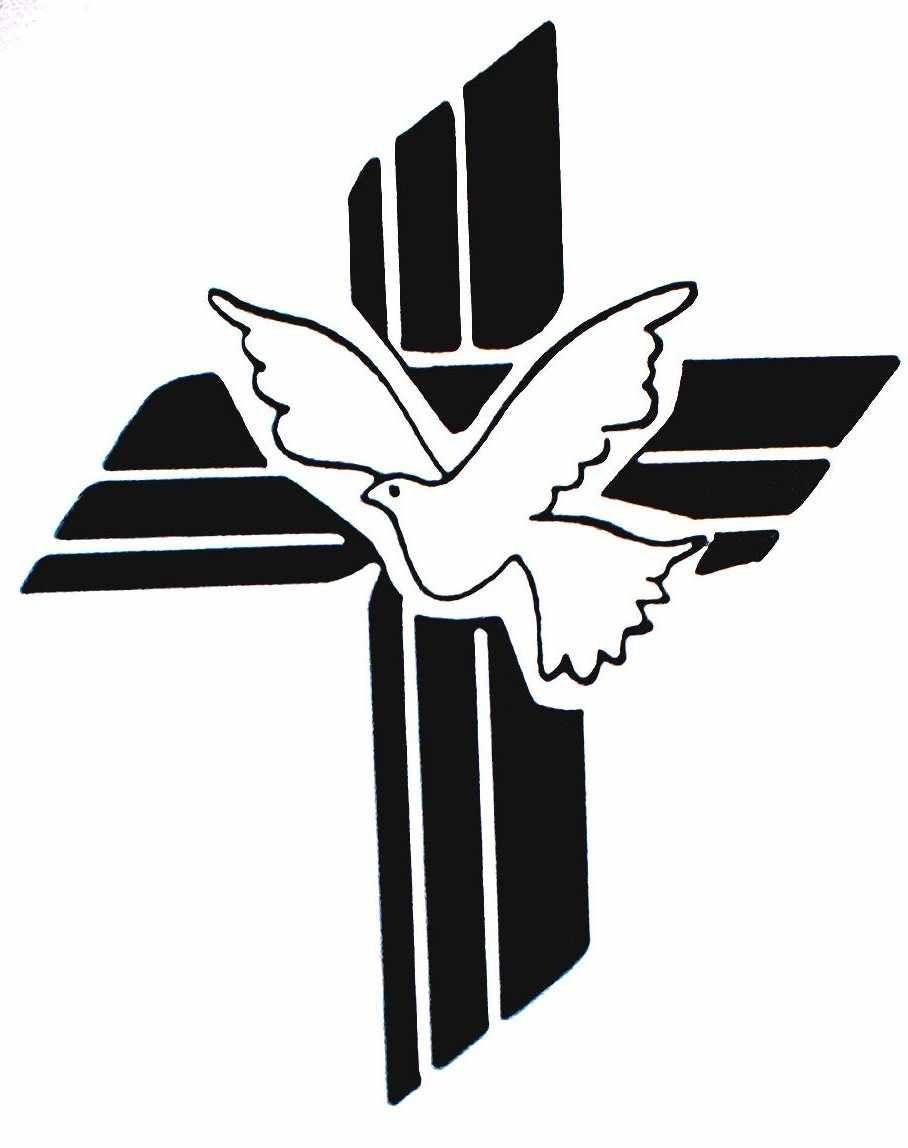 holy spirit dove clipart black and white clipart panda free rh pinterest co uk Baptism Clip Art Girl Baptism Cross