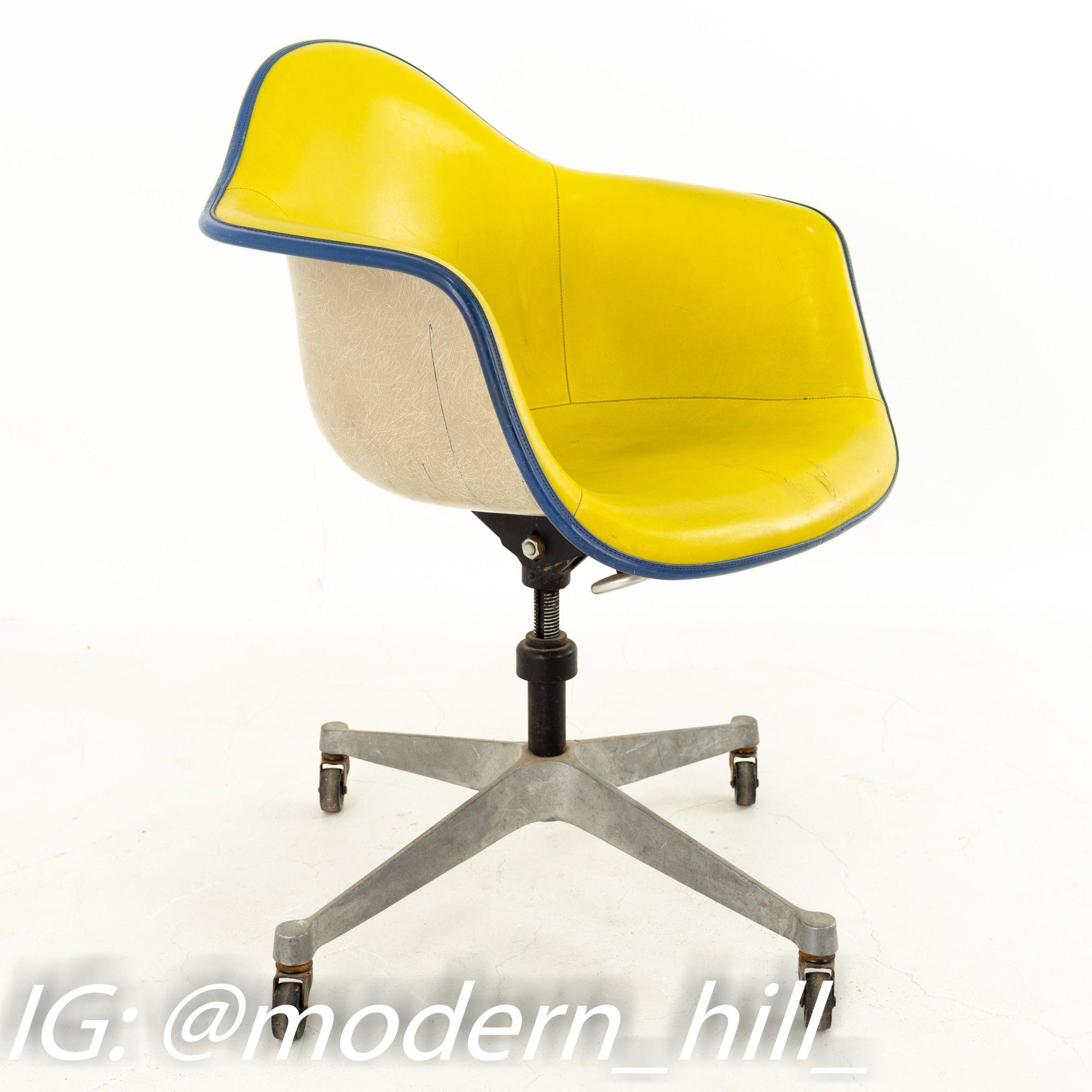 Eames for Herman Miller DAT Mid Century Fiberglass Shell