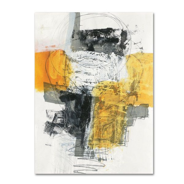 Jane Davies \'Action I\' Canvas Art - Overstock™ Shopping - Top Rated ...