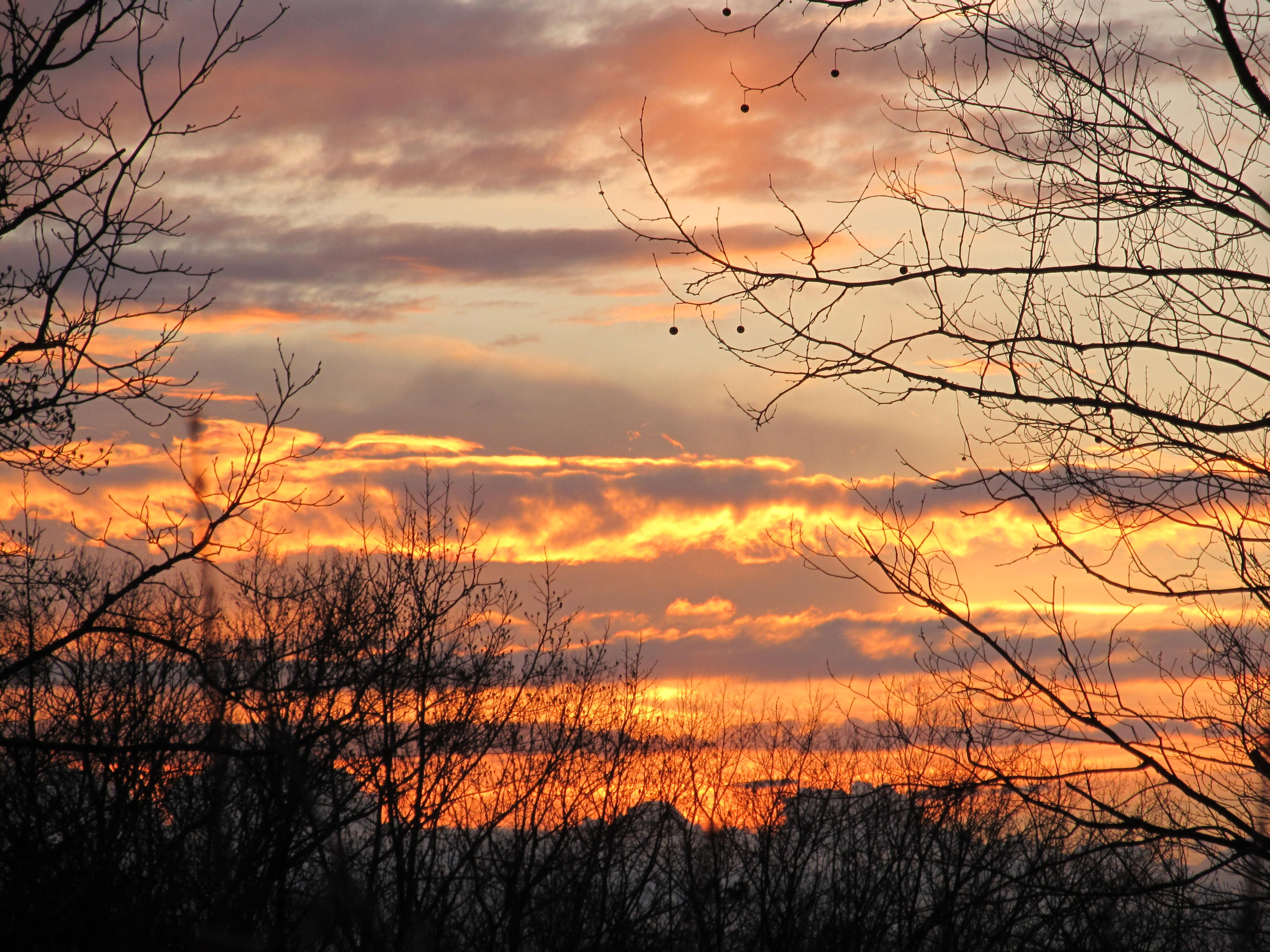 Sunset @ home.