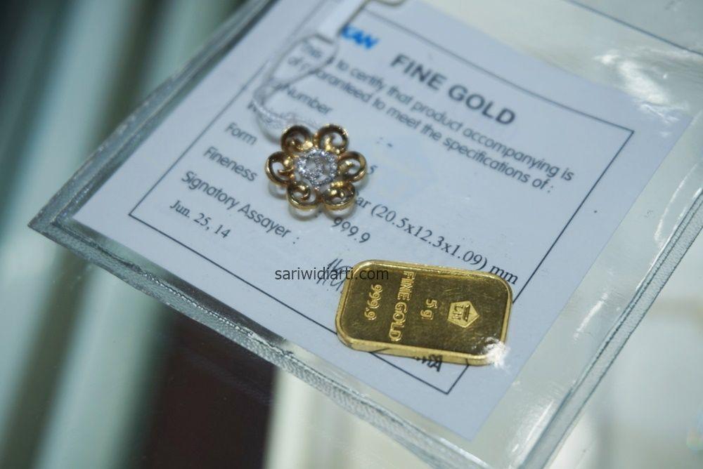 hadiah emas dan perhiasan
