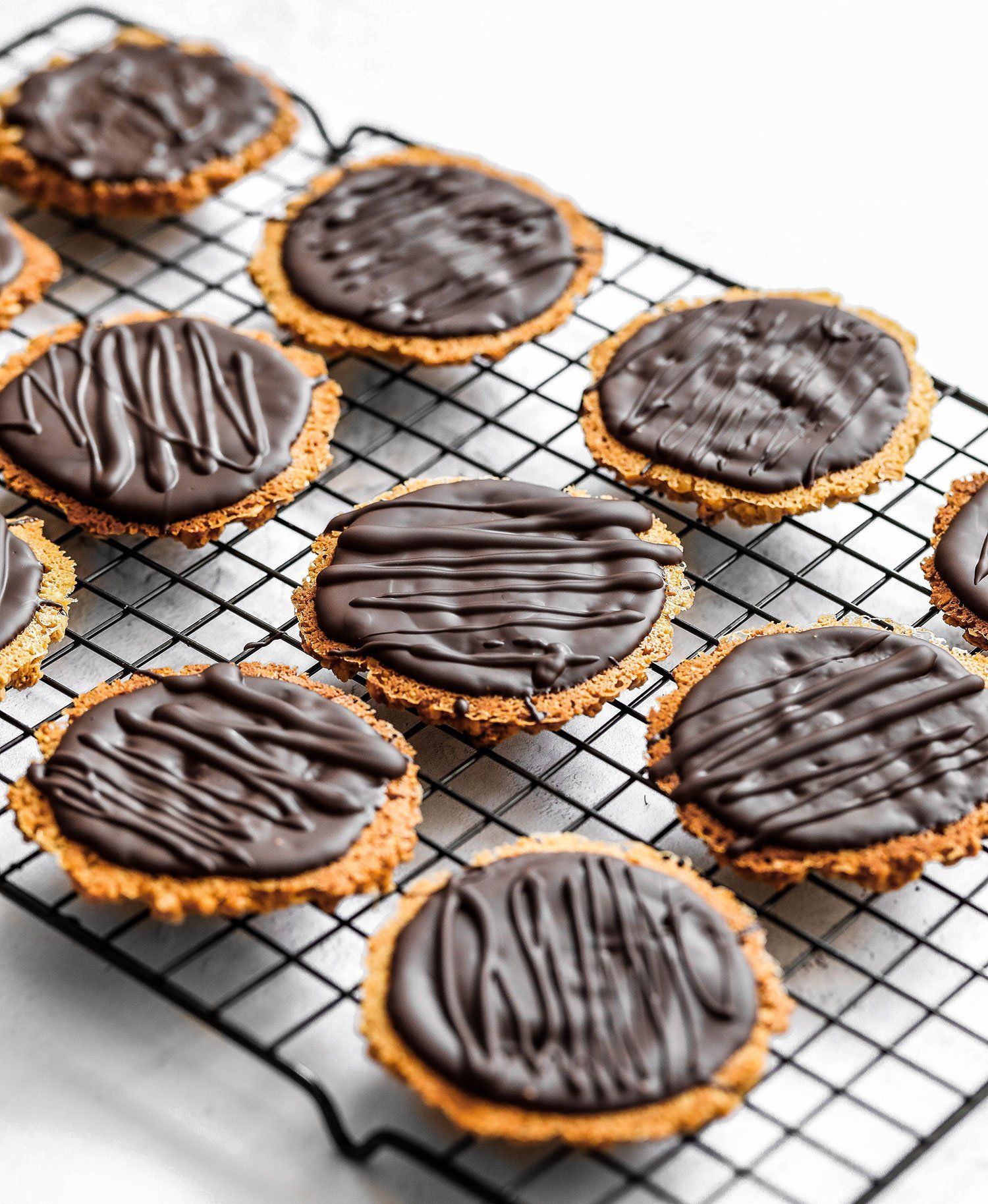 Homemade Chocolate Hobnobs Vegan Gluten Free Recipe
