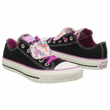 Womens Converse Chuck Taylor Double Tongue Lo Athletic Navy