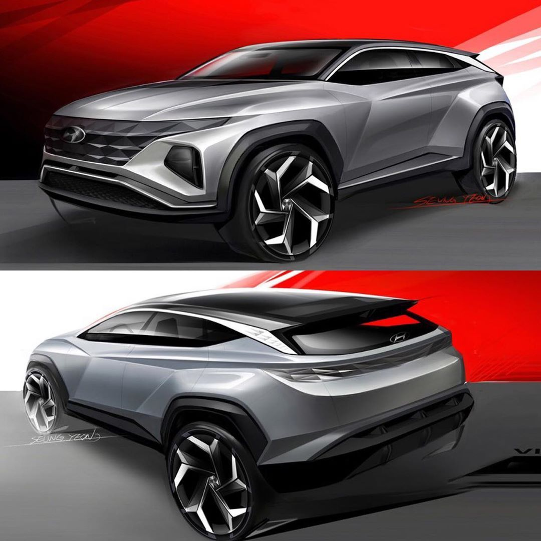 Car Design Sketch On Instagram 2019 Hyundai Vision T Concept