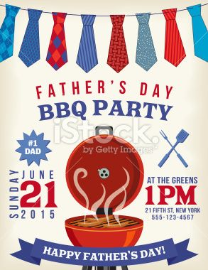 Bbq Celebration Template For FatherS Day Event There Is A
