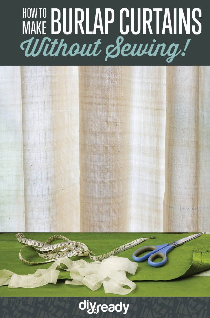 Best home depot hacks no sew curtains curtains without