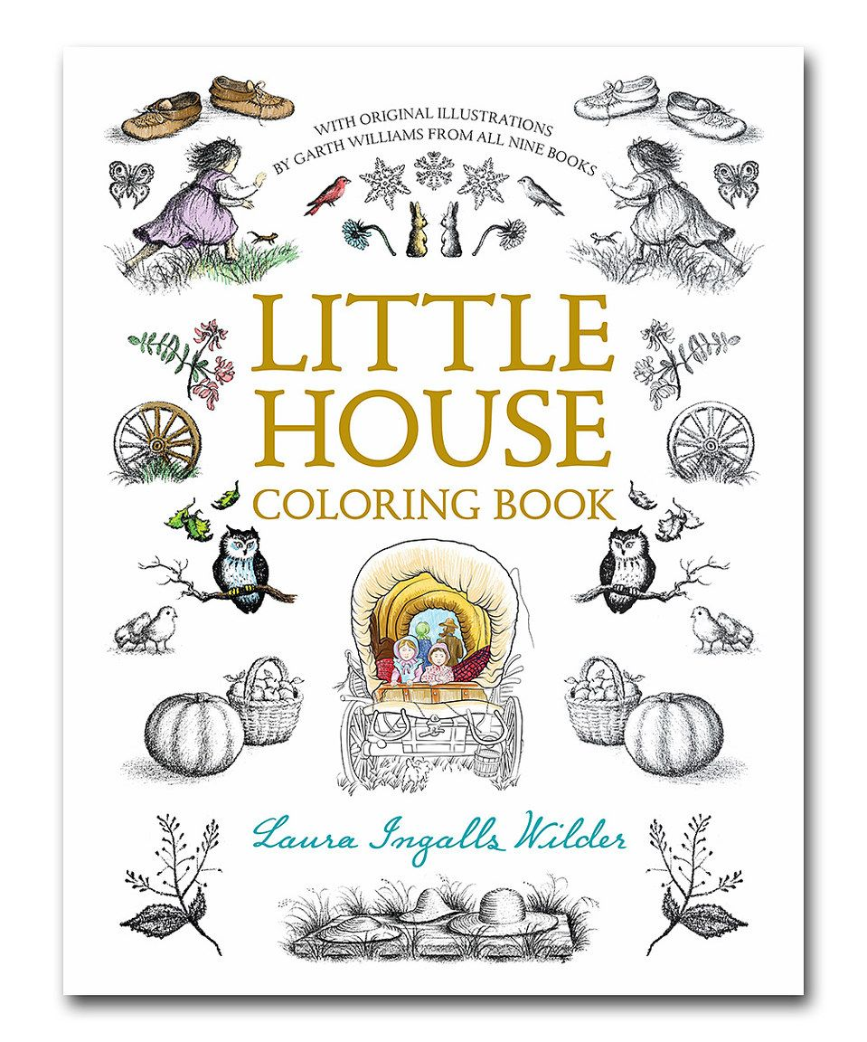 This Little House Coloring Book by Little House on the Prairie is ...