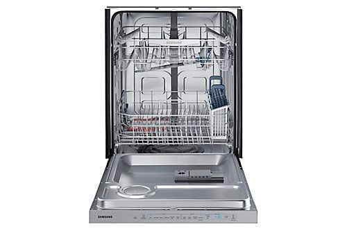 The Samsung Dw5050 Dishwasher Is Built To Work Just The Way You Do And Give You Sparklin Top Control Dishwasher Samsung Dishwasher Stainless Steel Dishwasher