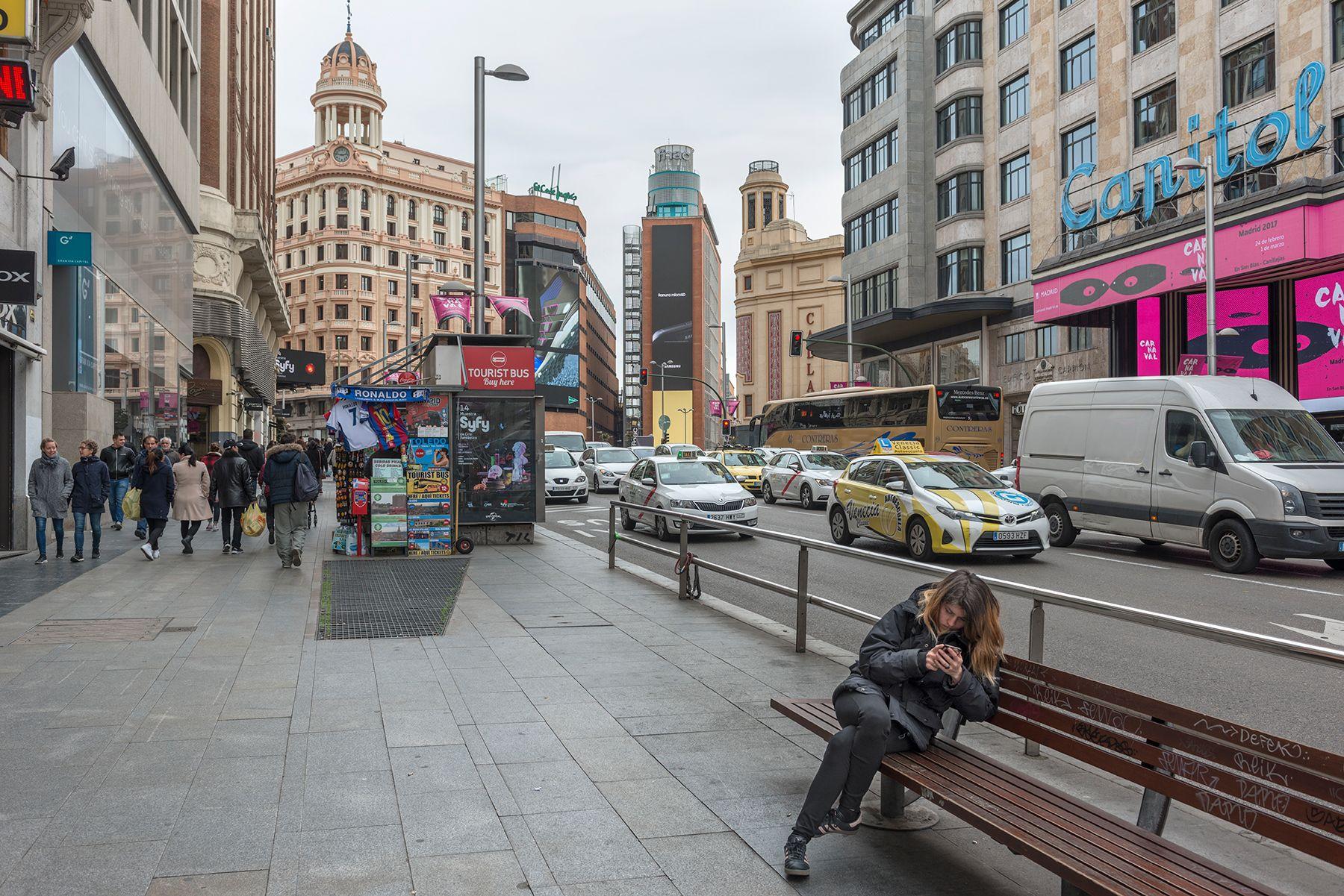 La plaza del Callao