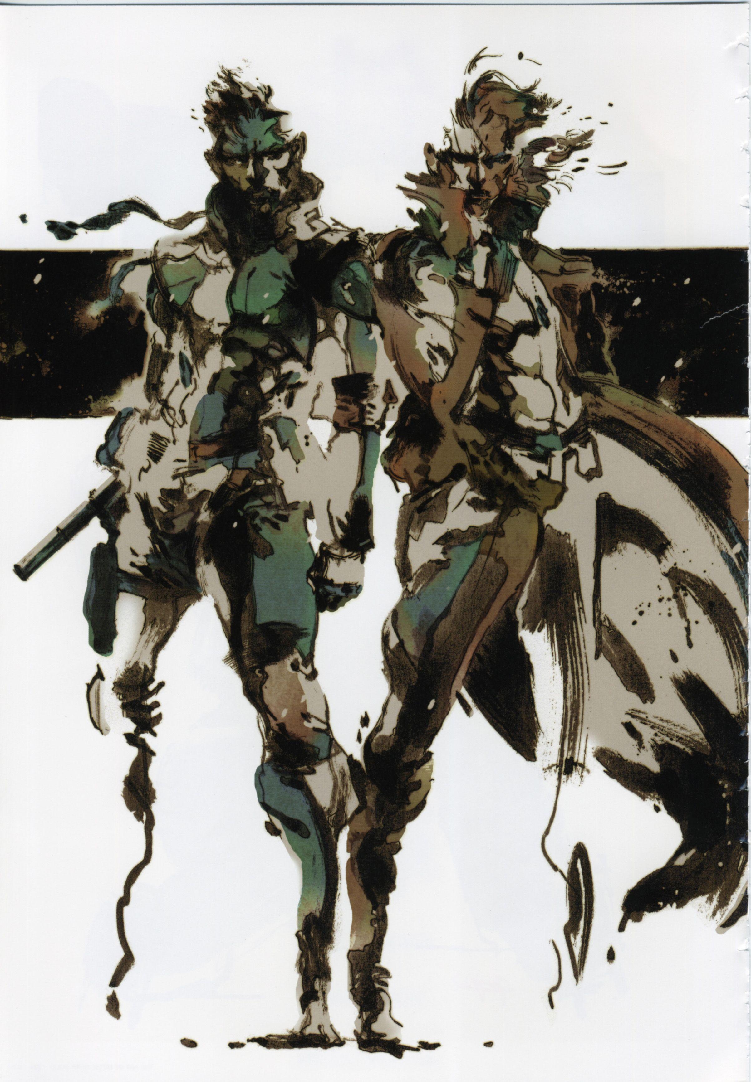 Metal Gear Ain T Metal Gear Without Yoji Shinkawa S Iconic