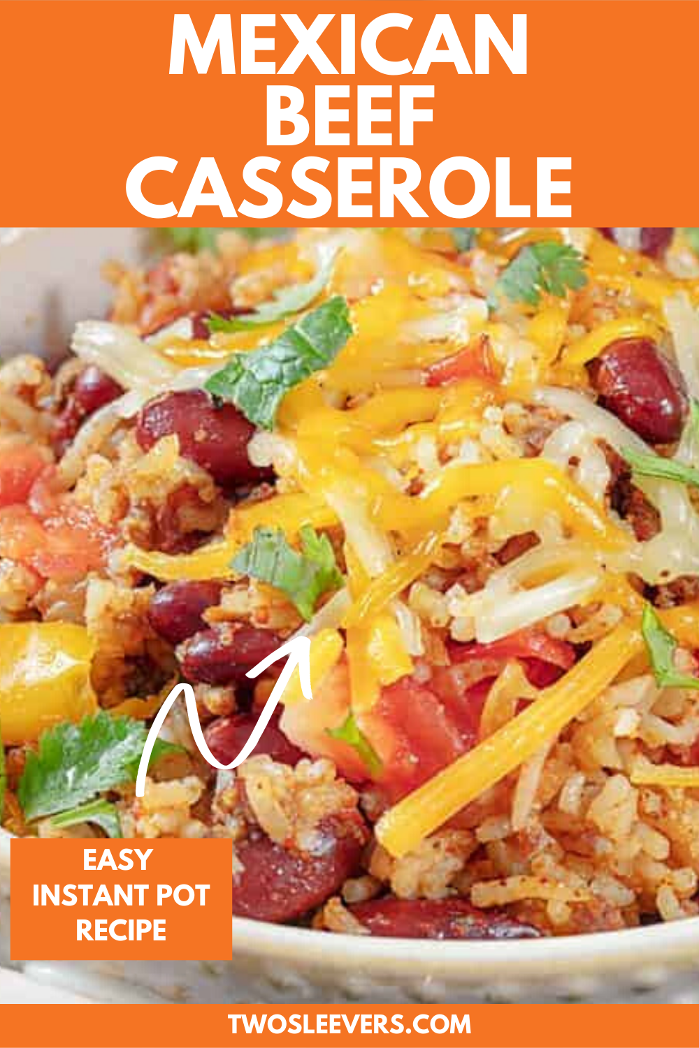 Mexican Ground Beef Casserole Made Easily In Your Instant Pot In 2020 Mexican Ground Beef Casserole Ground Beef Casserole Easy Instant Pot Recipes