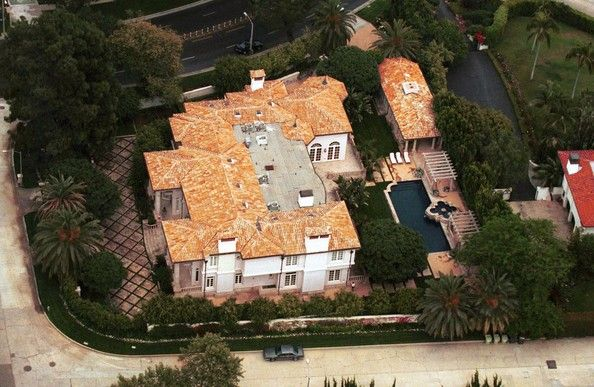 Luis Miguel house in Beverly Hills, California