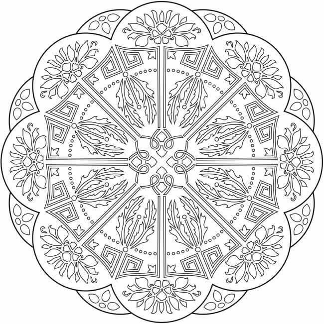 Pin by Barbara Tennison on Philippians | Mandala coloring