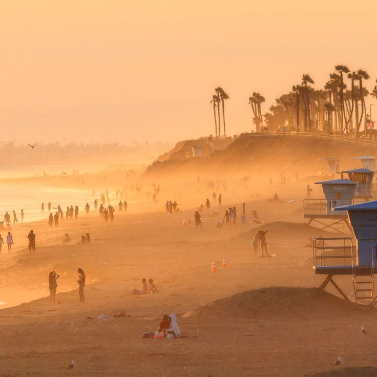 With 10 miles of coastline, Huntington Beach, California, is made up of five different beaches including Huntington State Beach, Huntington City Beach, Huntington Dog Beach, Bolsa Chica State Beach, and Sunset Beach. Coastalliving.com