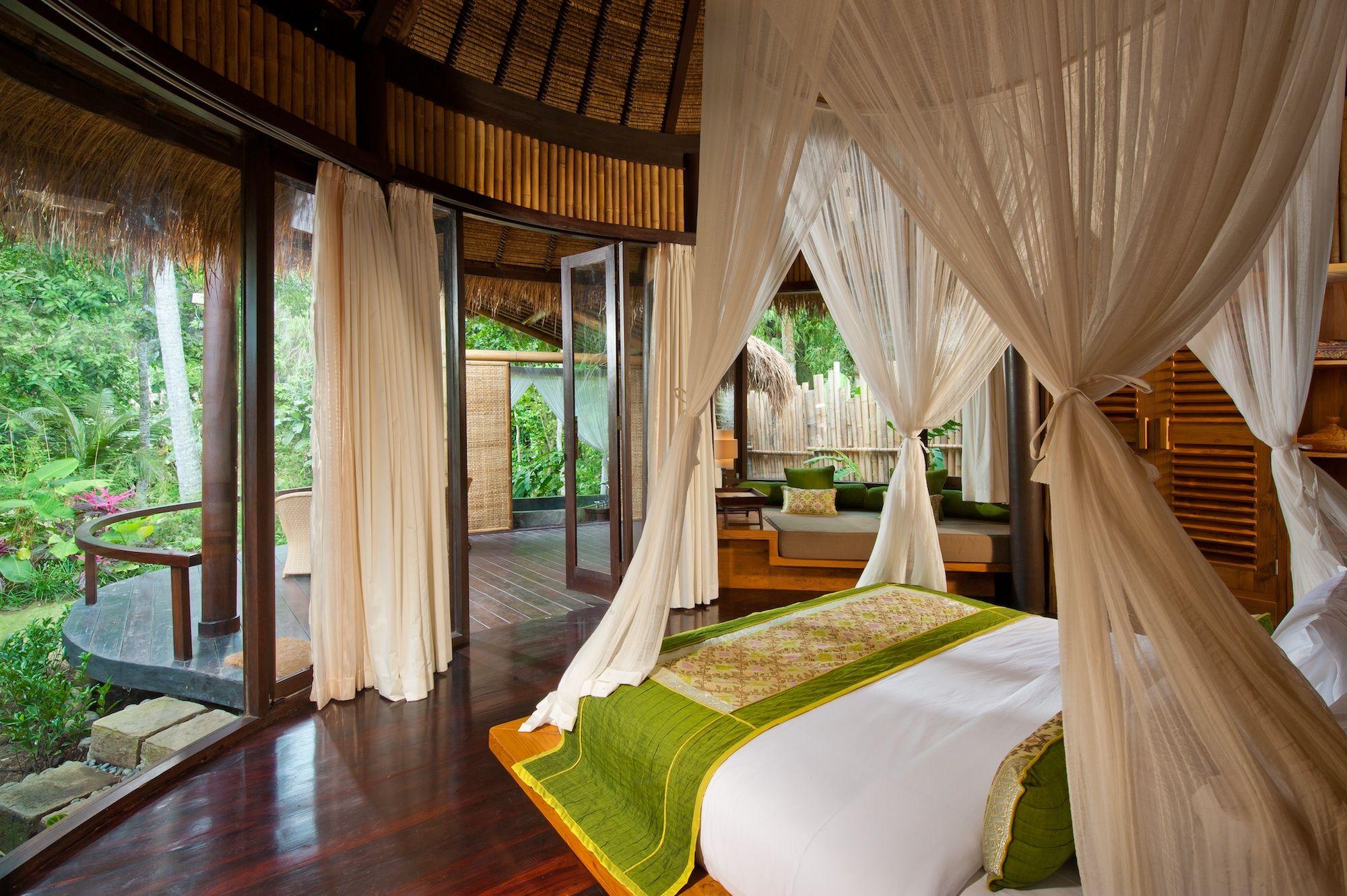 A Healing Retreat In Bali Romantic Bedroom Design Home