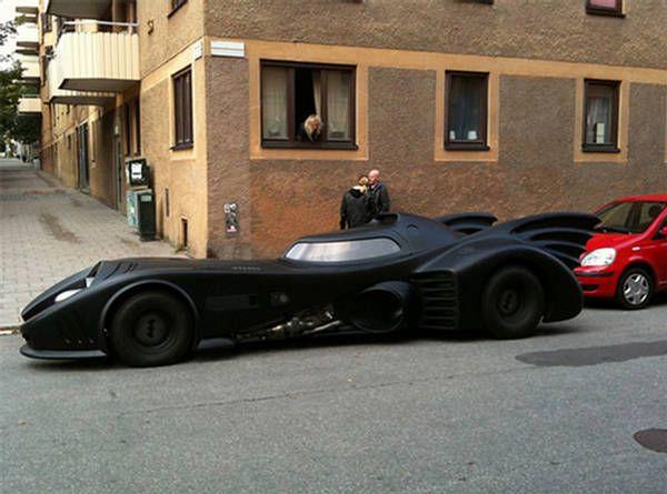 Batmobile Replica Lincoln Continental Dane Would Love This Batmobile