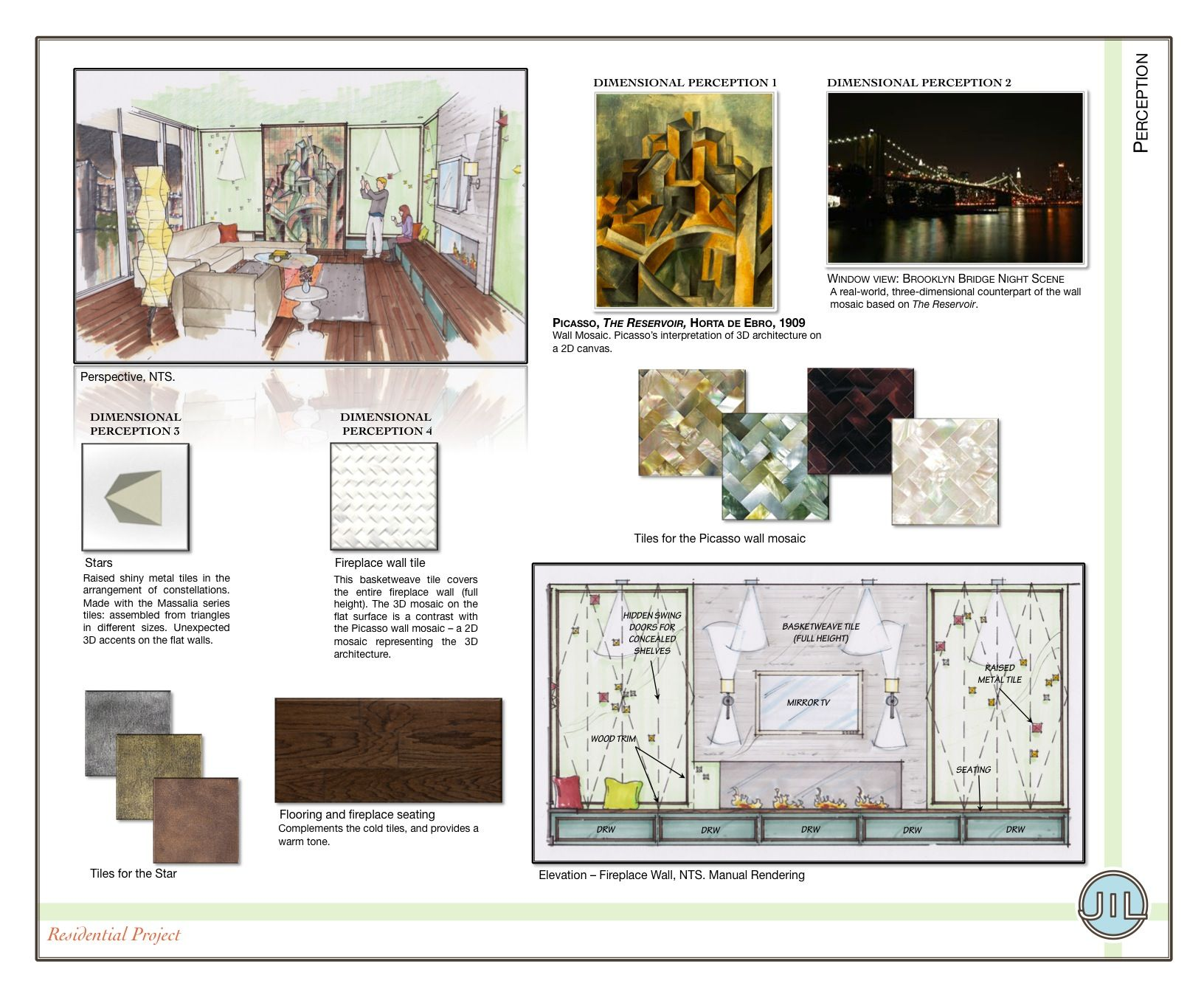 Interior design presentation boards examples http www for Interior design portfolio examples