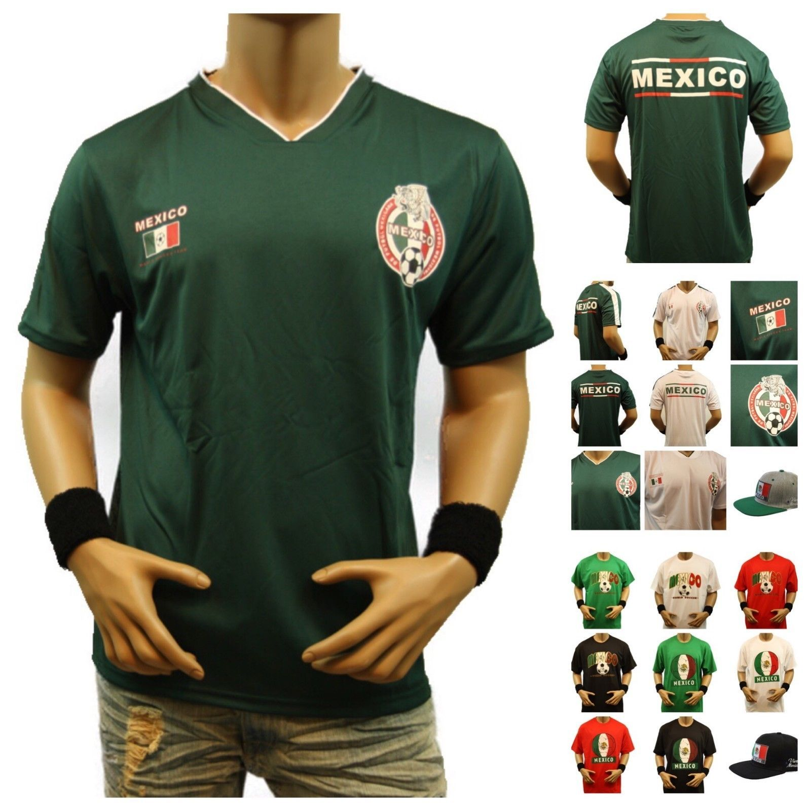 Mexico Soccer Jersey 2018 World Cup Team T-Shirt Football Men Uniform Tee  Sports Discount Price 22.99 Free Shipping Buy it Now 6a593b98d