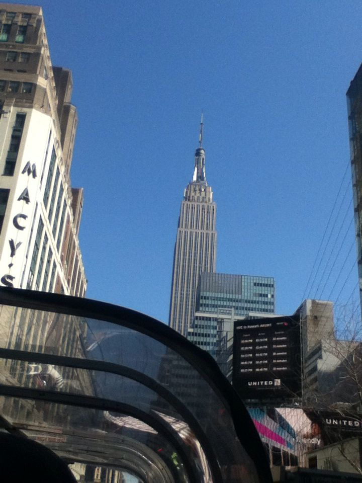 Day 2: New York City Bus Tour 3- The Empire State Building