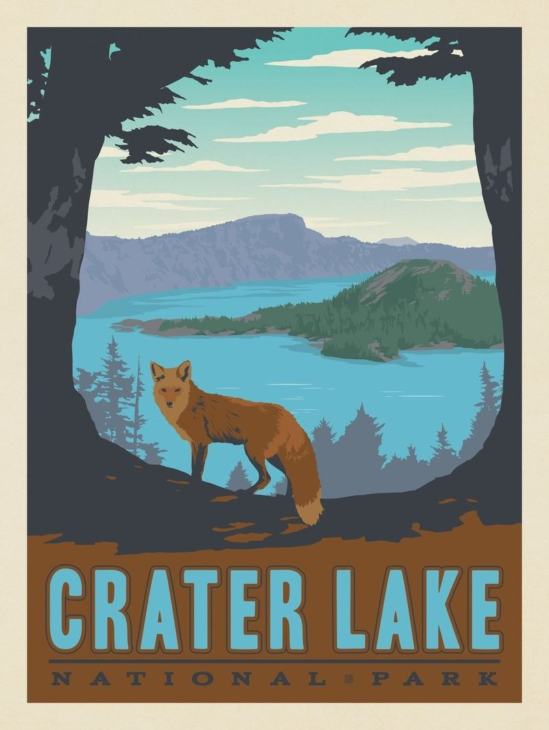 Anderson Design Group #craterlakenationalpark