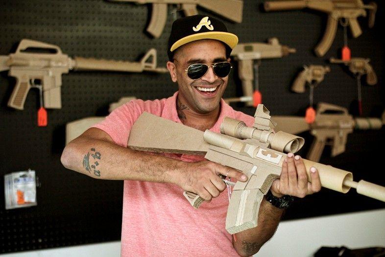 Asifs guns guns fearless fashion declaration of