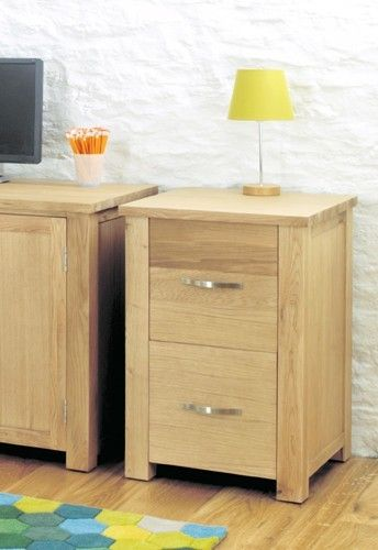 aston oak two drawer filing cabinet cvr07a