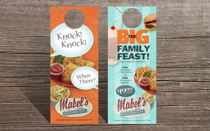 15+ Door Hanger Template Ideas for Hotels, Marketing and Advertising