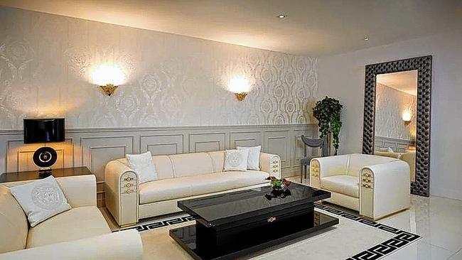 Versace Home - Interior Design Black \ White Office Pinterest