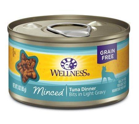 Wellness Complete Health Minced Tuna Can Cat Food 24/3 oz