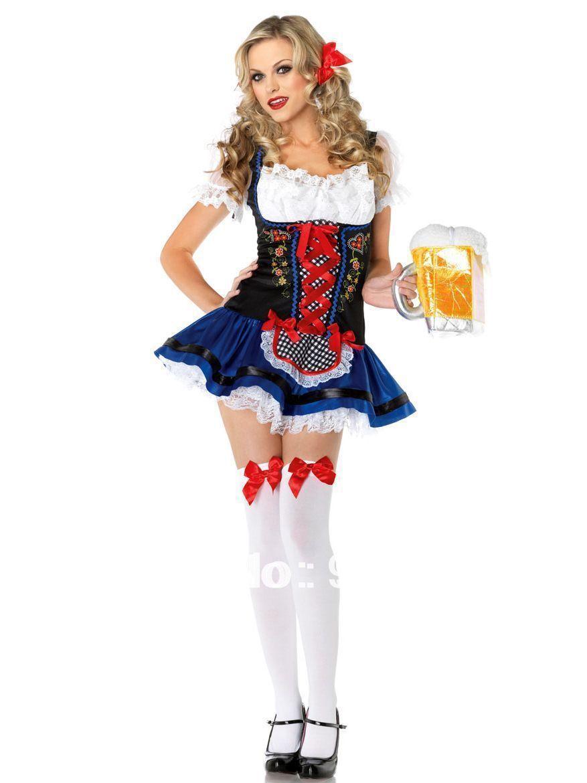 German-oktoberfest-carnival-party-cosplay-attendant-costume-beer ...