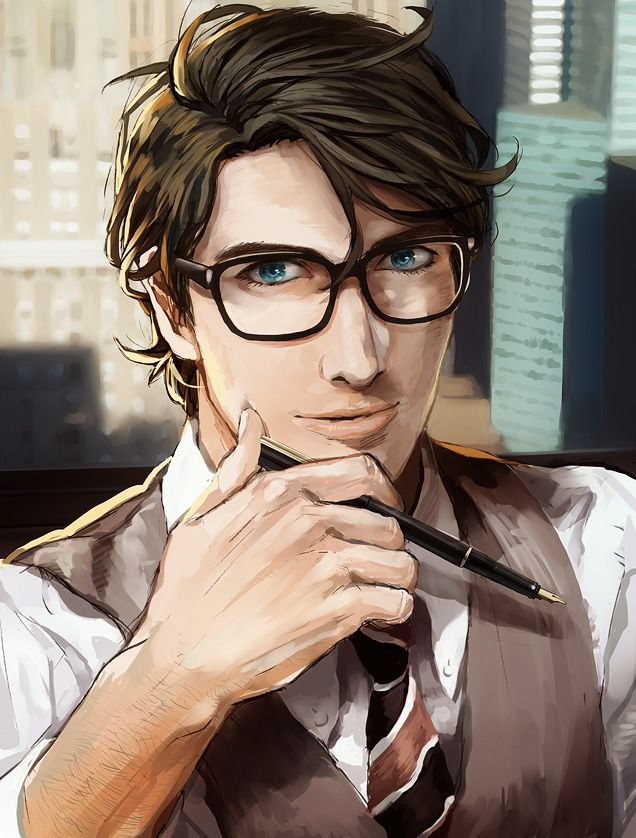 This is a graphic of Impeccable Clark Kent Drawing