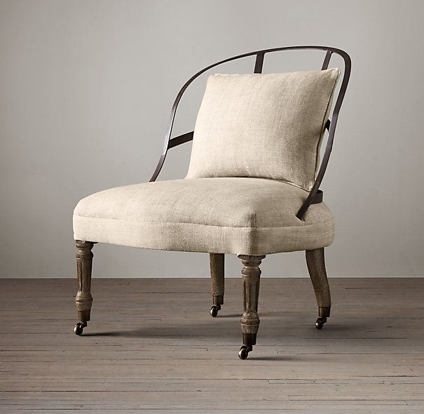 RHu0027s Couturieru0027s Chair:Our French Couturieru0027s Chair Recalls Those Used In  The Premier Fashion Houses · Restoration HardwareSide ChairsBedroom ...