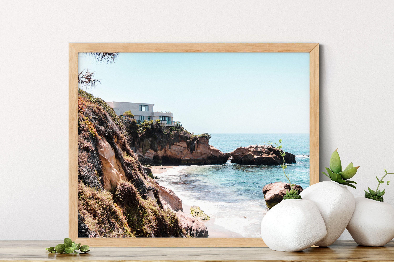 Laguna Beach Decor California Wall Prints Landscape Photography Home Decor Rock Wall Art Ocean Beachdecor Cal Surf Decor Beach Decor Creative Home Decor