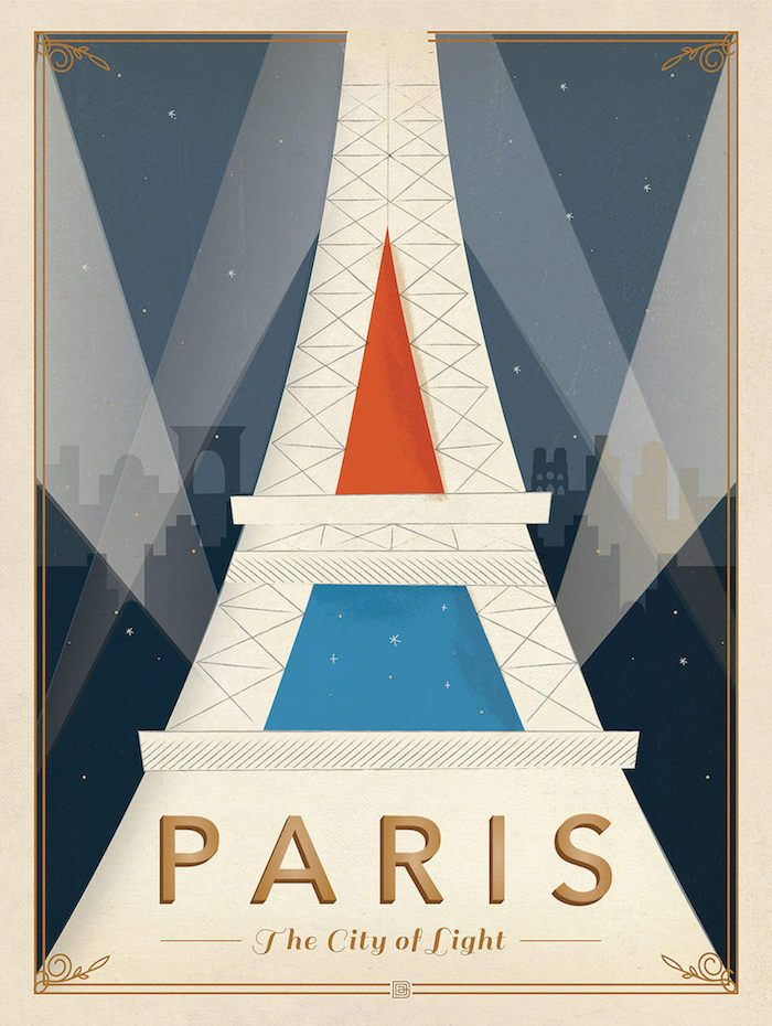 100 Vintage Travel Posters That Inspire to Travel The ...