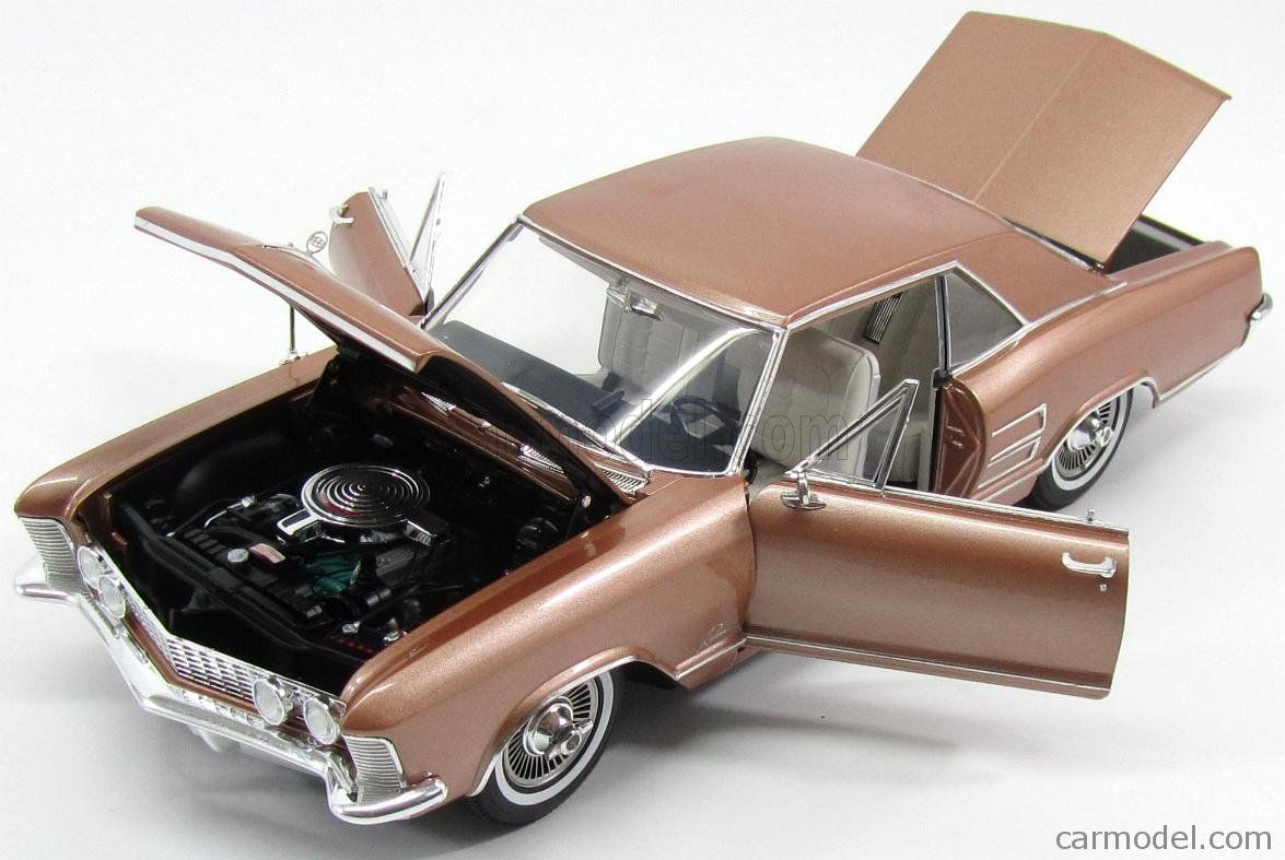 Jada car toys  ACMEMODELS  Scale  BUICK RIVIERA COUPE  GOLD MET