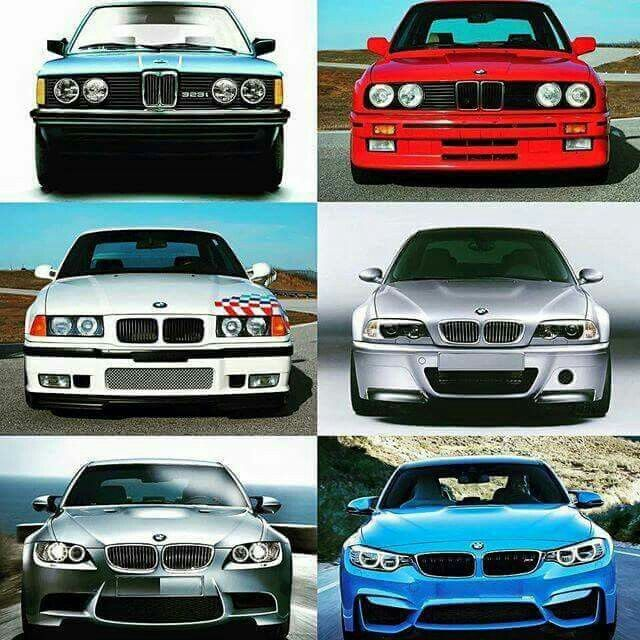 Bmw 3 Series Generations Bmw Cars Bmw 3 Series Sport Bmw 3 Series