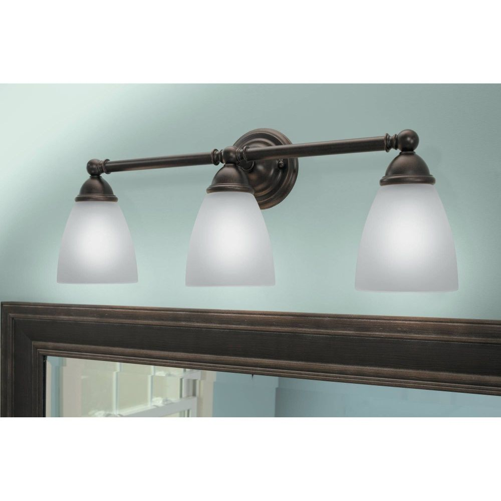Moen Yb2263orb Brantford Oil Rubbed Bronze Bathroom Lighting Efaucets Maybe For
