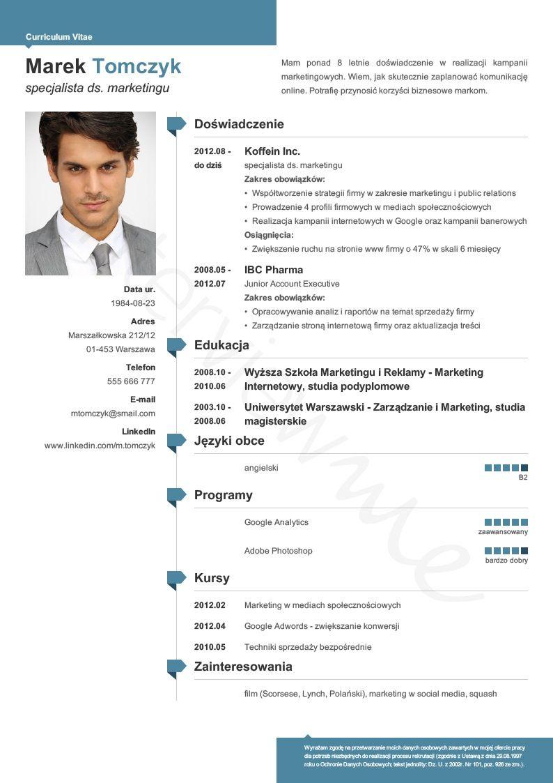 modern resume