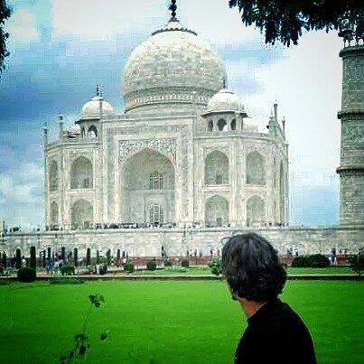 #mytajmemory Uma das 7 Maravilhas do mundo. Taj Mahal - Índia by rafaelincao #IncredibleIndia #tajmahal